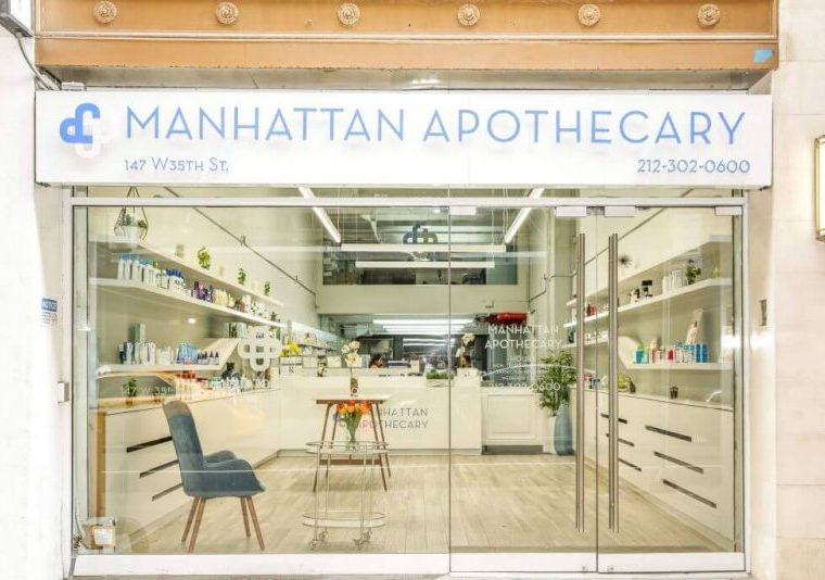 Manhattan Apothecary - 147 W 35th St, New York, NY 10001