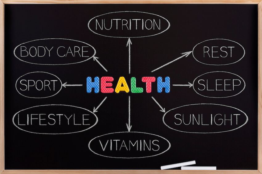 Apotheco Blog - A Holistic Approach - Diagram of Health