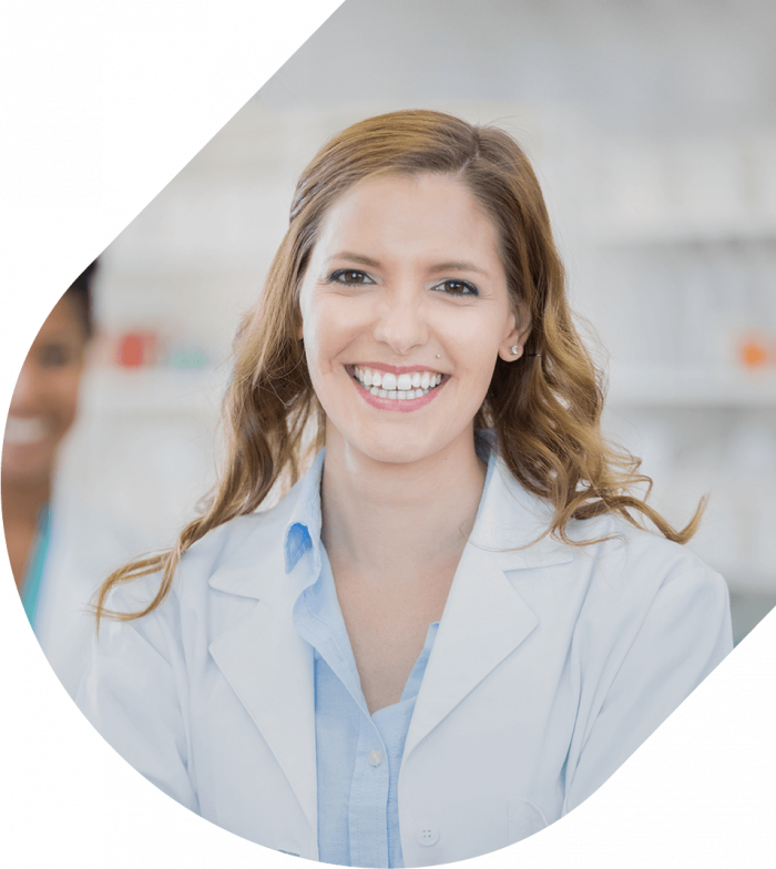 Apotheco About Us Pharmacist Smiling